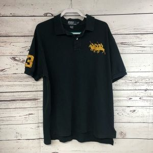 Vintage Polo By Ralph Lauren black and gold